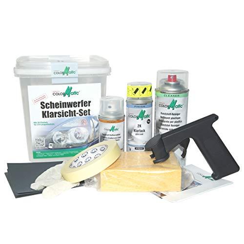 Colormatic 359248 Scheinwerfer Klarsicht-Set