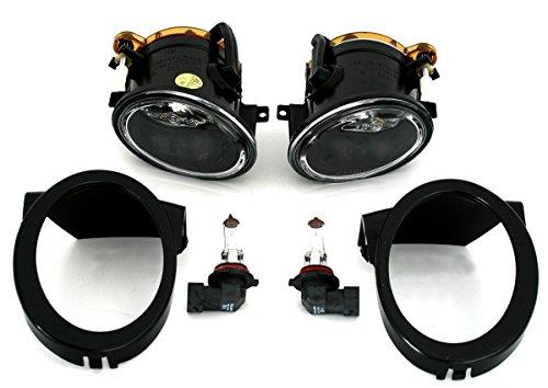 Nebelscheinwerfer Set, links + rechts, Klarglas Chrom, für M-Technik Stoßstange