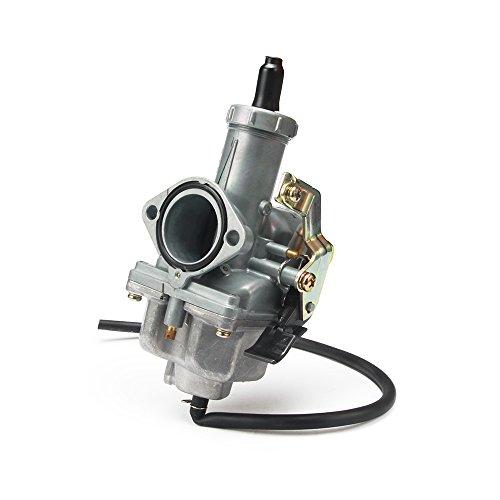 JFG 30 mm Ansaugkrümmer,Racing Kabel Choke PZ30, Vergaser für Motorrad 200 ccm und 250 ccm, Enduro, Quad, Taotao