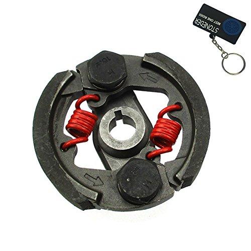 STONEDER Hochleistungs-Kupplung mit Schlüsselkanal für 2-Takt-Motoren mit 43 cm³, 47 cm³, 49 cm³, Mini-Moto, ATV, Geländemotorrad