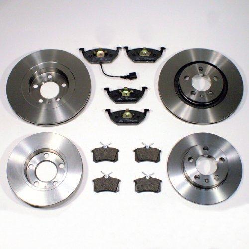 4 Bremsscheiben/Bremsen + 8 Bremsbeläge vorne + hinten