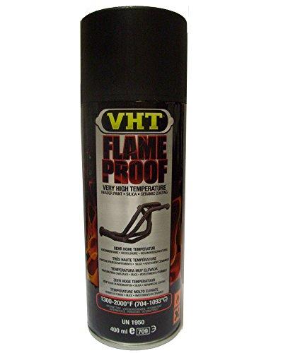 VHT GSP102 Auspuff u.- Krümmerlack Flame Proof Schwarz matt hitzebeständig bis 1093°C (EUR 39,75/L)