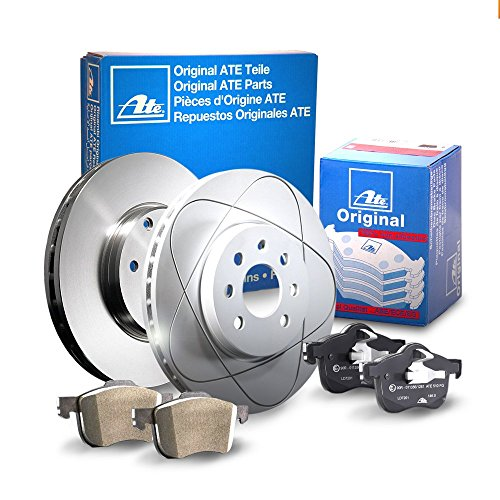 2 Bremsscheiben Ø302 Voll + Bremsbeläge ATE P-A-02-00370 Bremsanlage