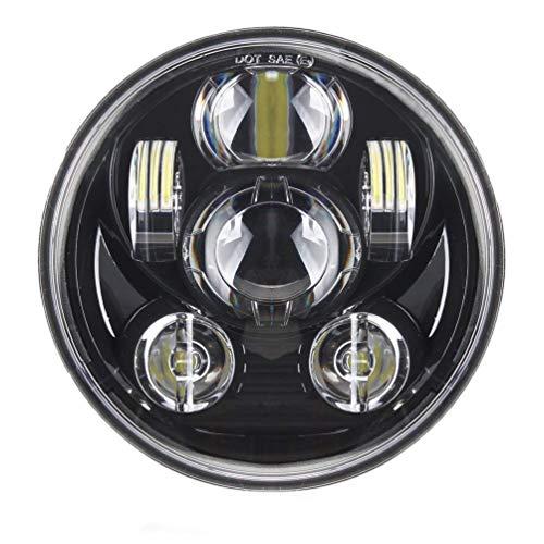 5-3/4 5,75 Zoll 45W LED Scheinwerfer für Harley Davidson Motorräder Scheinwerfer