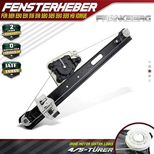 Fensterheber Ohne Motor Hinten Links für 3er E90 E91 Limousine Kombi 2004-2012 51357140589