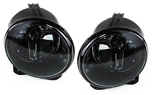 Klarglas Nebelscheinwerfer schwarz