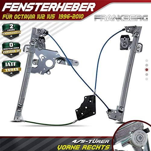Frankberg Fensterheber Vorne Rechts für Octavia 1U2 1U5 4/5-Türig 1996-2010 1U0837462B