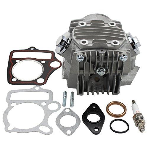 GOOFIT abgeschlossen Zylinder Kopf Zylinderkopf 110cc Engine für ATV Go Kart and Dirtbike
