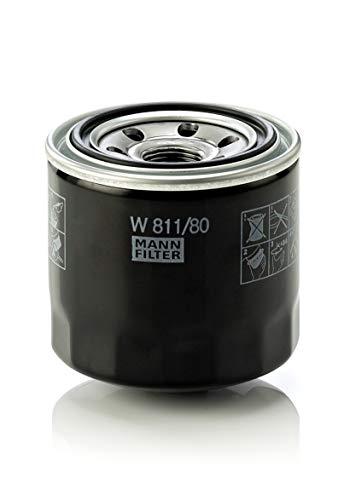 Original MANN-FILTER Ölfilter W 811/80 – Für PKW und Nutzfahrzeuge
