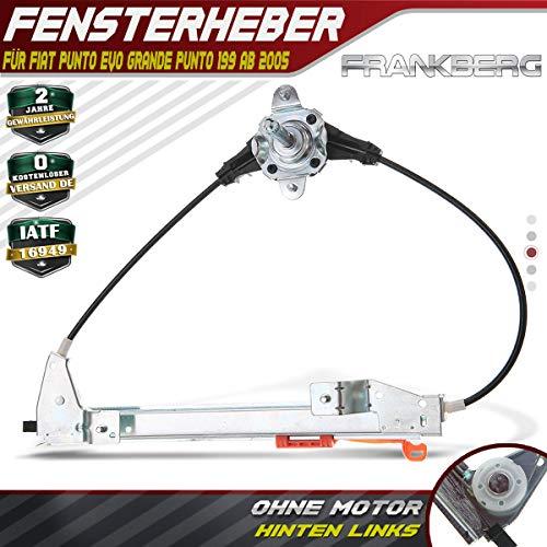 Frankberg Fensterheber Ohne Motor Hinten Links für Grande Punto Punto Punto Evo 199 2005-2018 51723324