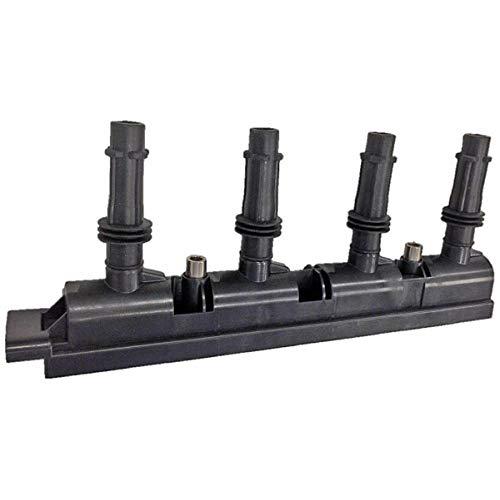 HELLA 5DA 358 000-341 Zündspule – 12V – 7-polig – Blockzündspule – geschraubt