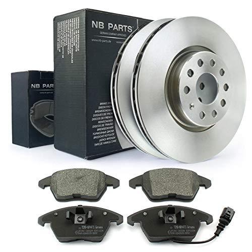 Bremsscheiben + Bremsbeläge vorne NB PARTS GERMANY 10042236