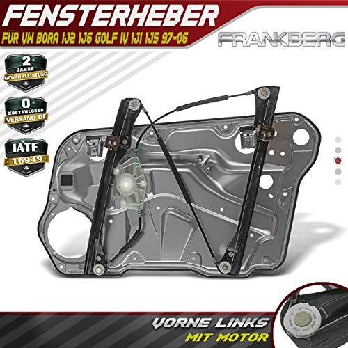 Fensterheber Elektrisch Mit Metallplatte Ohne Motor Vorne Links für Bora Variant 1J2 1J6 Golf IV Variant 1J1 1J5 1997-2006 4/5 Türer 1J4837461