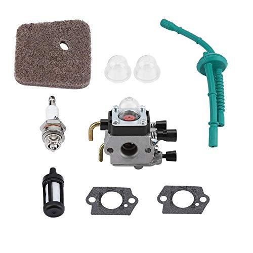 TOPINCN Vergaser Kit Ersatz für STIHL FS55 FS55R FS55RC KM38 HL45 KM55R Preiswerter Motor Rasenmäher Zubehör