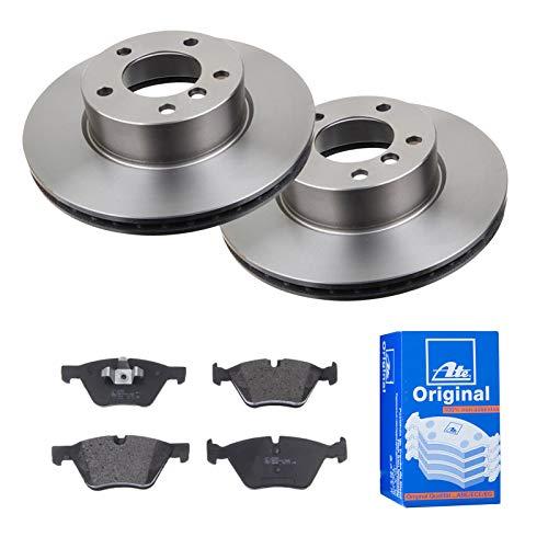 2 Bremsscheiben Ø300 Belüftet + Bremsbeläge ATE Vorne P-A-01-00863 Bremsanlage