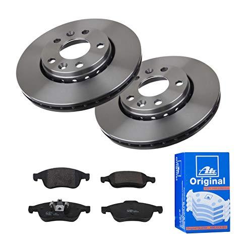 2 Bremsscheiben Ø280 Belüftet + Bremsbeläge ATE Vorne P-A-01-00785 Bremsanlage