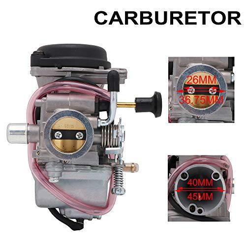 AnXin Vergaser 26 mm für Suzuki EN125 GS125 GN125 Motorrad