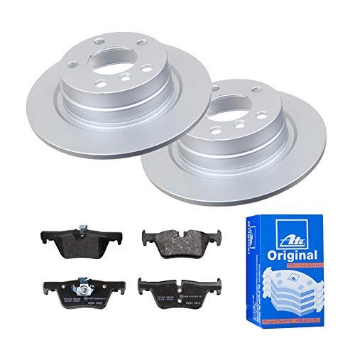 2 Bremsscheiben Ø290 Voll + Bremsbeläge ATE Hinten P-A-02-00360 Bremsanlage