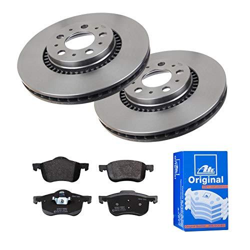 2 Bremsscheiben Ø305 Belüftet + Bremsbeläge ATE Vorne P-A-01-00875 Bremsanlage