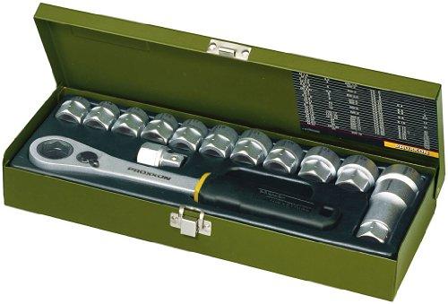 Proxxon 23604 Werkstatt-Spezialsatz, 13 bis 27 mm 14-teilig , 1/2 Zoll