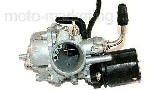 UNTIMERO Sport VERGASER 17,5mm E-Choke für Yamaha MBK AEROX MINARELLI-Motor 2TAKT 50