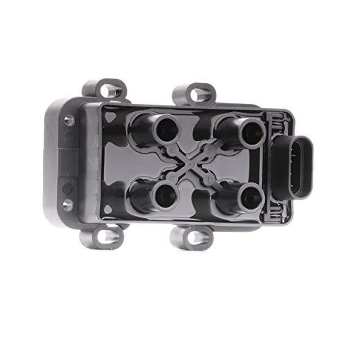 HELLA 5DA 193 175-391 Zündspule – 12V – 4-polig – Blockzündspule – geschraubt