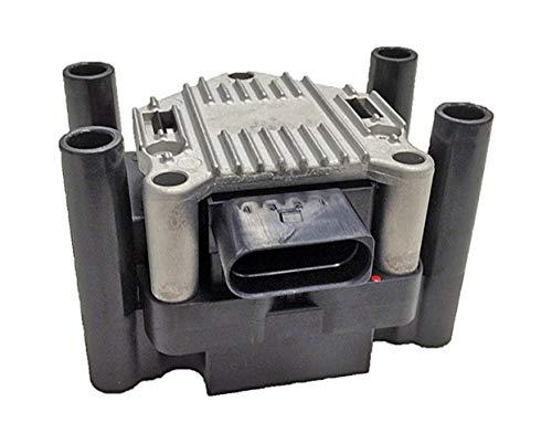 HELLA 5DA 358 000-171 Zündspule – 12V – 4-polig – Blockzündspule – geschraubt