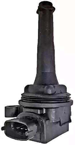 HELLA 5DA 358 000-071 Zündspule – 12V – 4-polig – Kerzenschachtzündspule – geschraubt