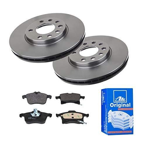 2 Bremsscheiben Ø280 Belüftet + Bremsbeläge ATE Vorne P-A-01-00486 Bremsanlage