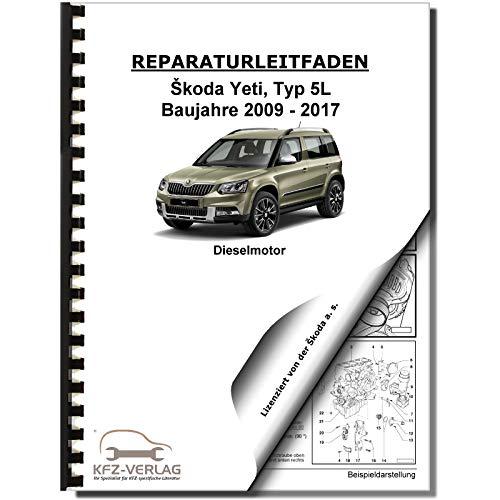 Skoda Yeti 5L (09-17) 4-Zyl 2,0l Dieselmotor TDI 110-170 PS Reparaturanleitunng
